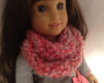 Autumn colored american girl or 18'' scarves