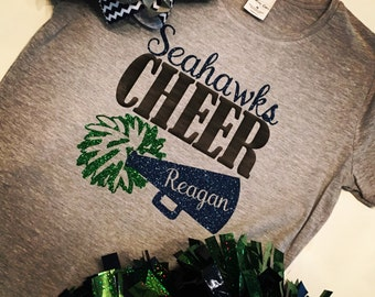 Cheer Mom Life Spirit Tee Shirt