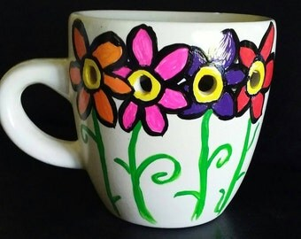 Hand Painted Scented Oil Burner