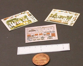 Miniature Victoria Paper Toys