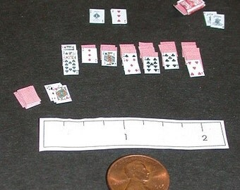 Miniature Deck of Cards