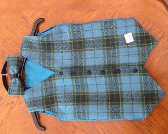 Bespoke Harris Tweed Waistcoat Set