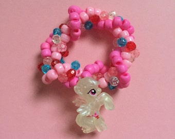 My Little Pony Cutie Braided Kandi Bracelet