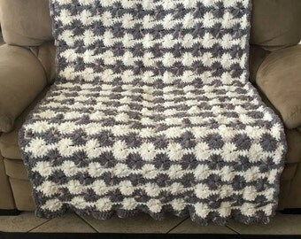 Big Wheel Stitch Afghan