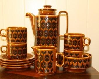 Hornesea Heirloom Coffee/tea set 1974