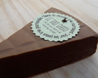 """The """"any choco"""" super greedy to cocoa butter and chocolate SOAP"""