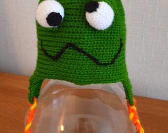 Kids Dinosaur/Monster Hat - Green