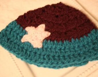 The Little Mermaid Crochet Hat
