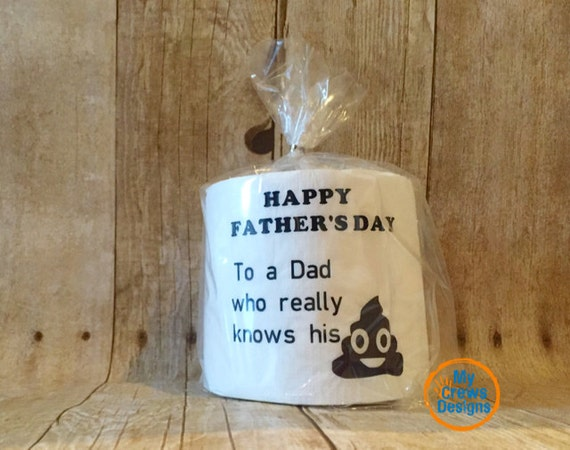 Father's Day Gifts Funny Father's Day Toilet Paper