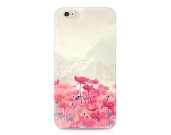 iPhone 6s Plus Case, iPhone 6s case floral Samsung S6 Edge Case poppy Galaxy s5 case iPhone SE Case Floral iPhone 6 Plus Floral flowers