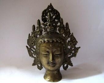 Tara head statue