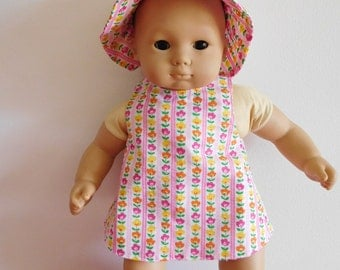15 inch doll 3 Piece Sunsuit