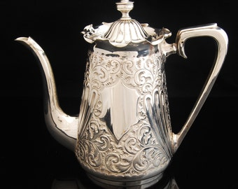 Antique Tea or Coffee pot Maker Thomas Woolley