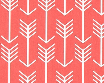 Home Decor Fabric Premier Prints Arrow Coral By the Yard Home Decorating Fabric Yardage