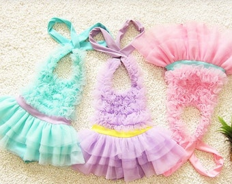 Girls tutu cute bathing suit