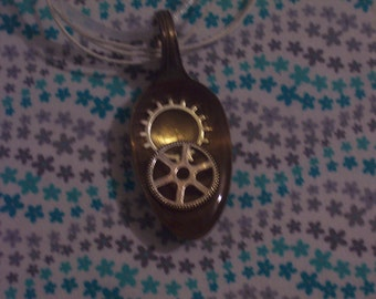 Gear Spoon Necklace