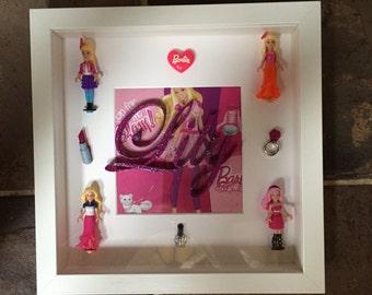 Personalised Barbie Frame