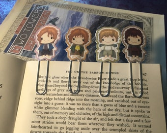Lord of the Rings Paper Clip Bookmark