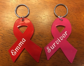 Awareness Ribbon Keychain