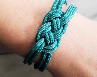 Sailors Knot Bracelet/ Nautical Rope Bracelet/ Infinity Knot Bracelet/ Knot Bracelet/ Knotted Rope Bracelet/Tie The Knot/Rope Jewelry
