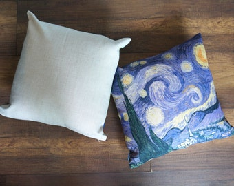 SALE! Van Gogh -Starry Night- Pillow