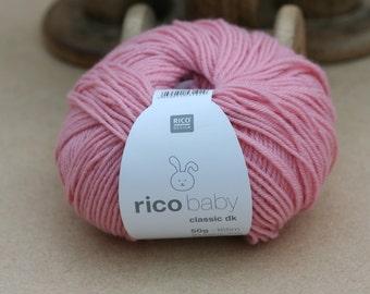 Rico Baby Classic DK Yarn Smokey Rose 039