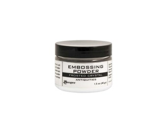 Embossing Powder 1.5oz Frosted Crystal