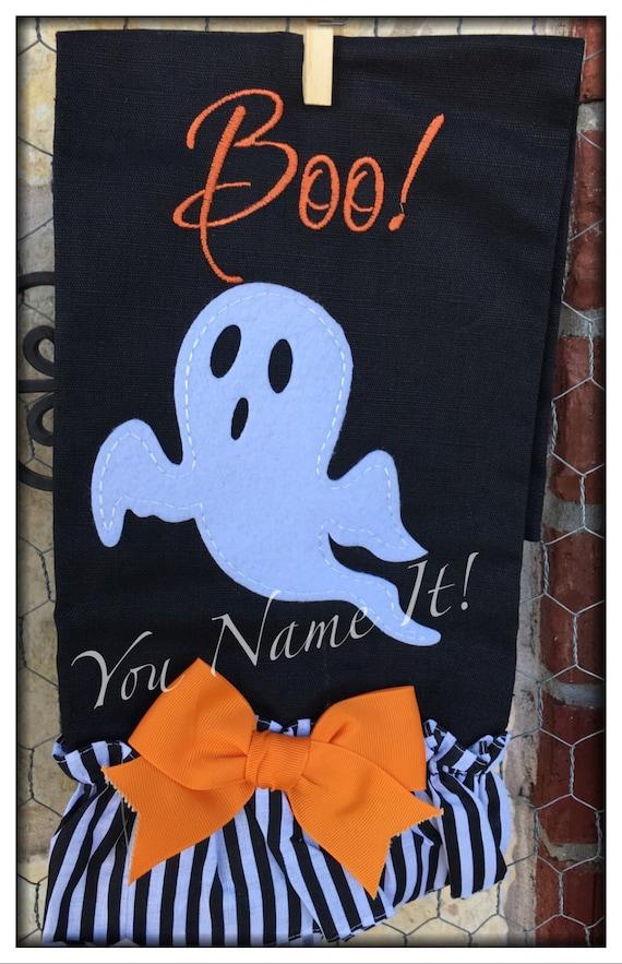 "Halloween Towel ""Ghost"""