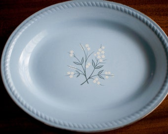 "Kraft Blue ""Bittersweet"" Platter 