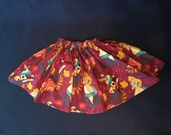 Disney Alice in Wonderland Toddler Skirt