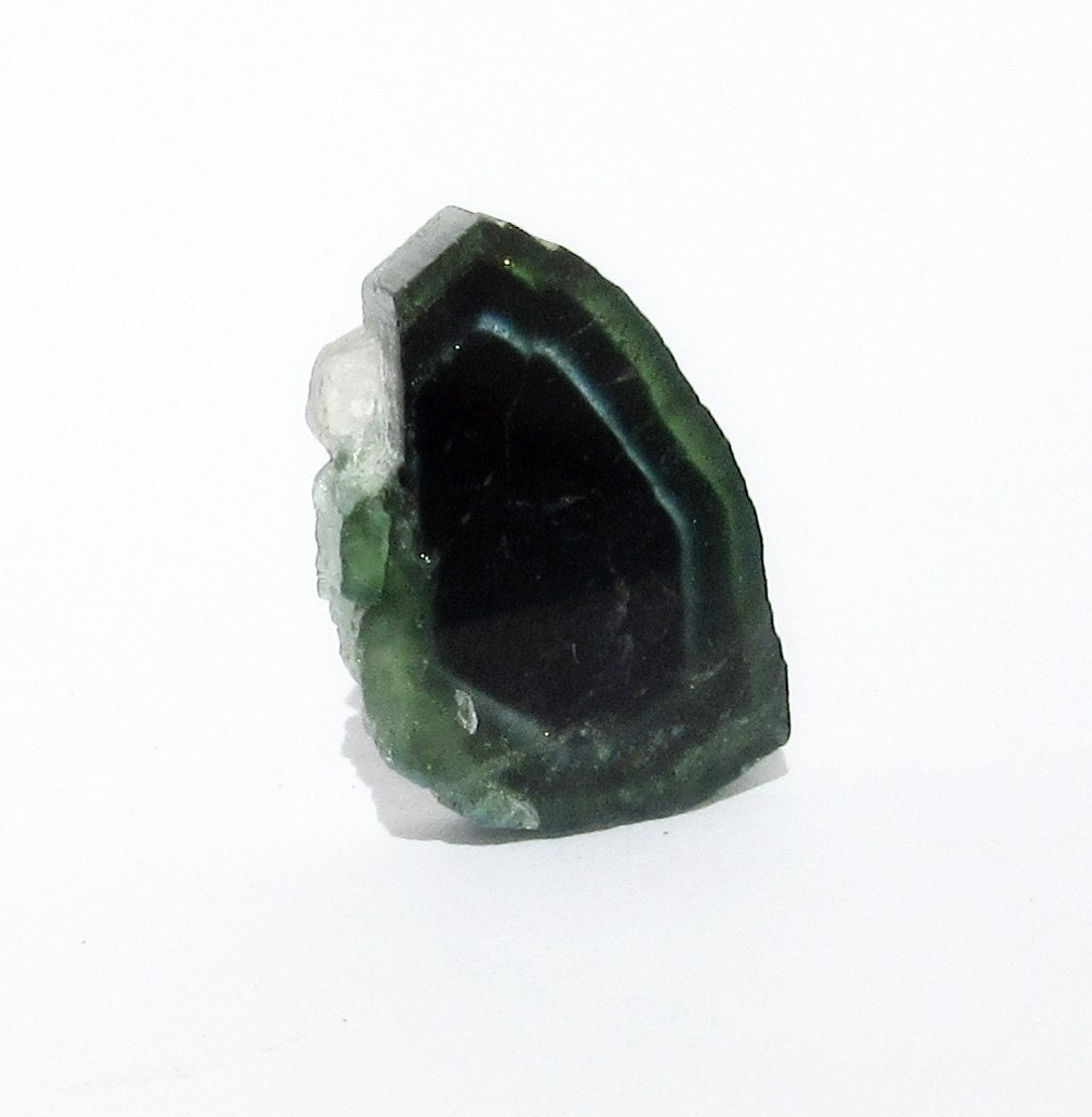 Blue Watermelon Tourmaline Indicolite Rough 9.35 Ct Tri ...