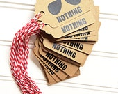 Hangover Gift Bag Tags