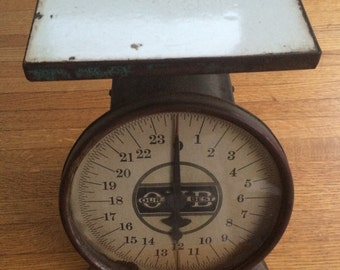 Vintage Our-Very-Best (OVB) Kitchen Weigh Scale