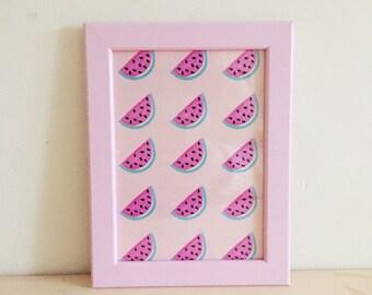 Watermelons Framed Mini Print