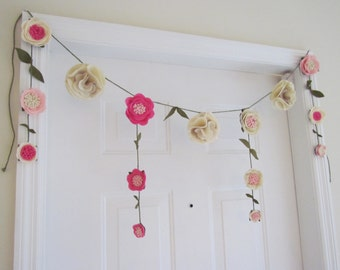 Floral Garland // Flower Banner