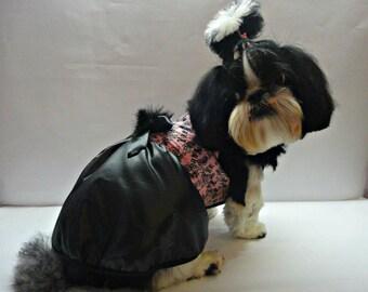 Dog Clothing - dog winter coat - dog jacket  - Dog clothes - small pet clothes - waterproof