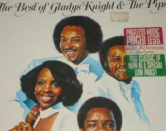 The Best of Gladys Knight & The Pips, vintage vinyl record album