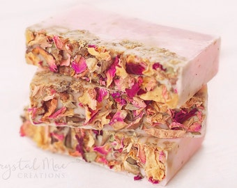 Rose Soap - Coconut Milk Soap - Vegan Soap