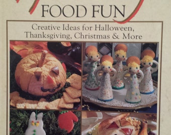 HOLIDAY FOOD FUN Cookbook, Halloween, Thanksgiving, Christmas & More