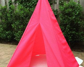 Handmade Tipi Tent AUGUST SUMMER DEAL