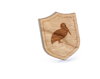 Pelican Lapel Pin, Wooden Pin, Wooden Lapel, Gift For Him or Her, Wedding Gifts, Groomsman Gifts, and Personalized