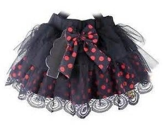 Polka dot tutu for girls