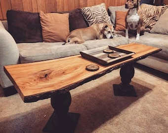 Live Edge Table - custom built to order customized