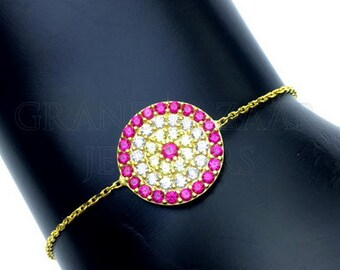 925 Silver Evil Eye Bracelets