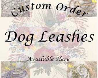Custom Made Paracord Dog Leash