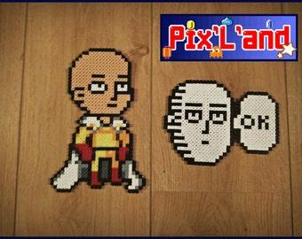 Theme One Punch Man Beads Hama MiDi