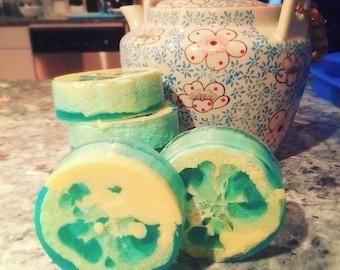 Blueberry Lemon Loofah Soap