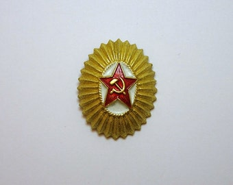 Soviet military badge | Free worldwide delivery