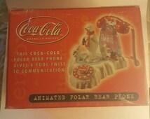 Unique Coca Cola Polar Bear Related Items Etsy
