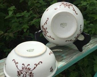 Two beautiful Iroquois China Restaurant Ware Bowls